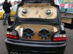 BMW cabriolet 1 coffre